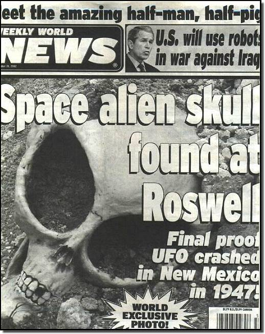 Real Alien Skull